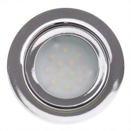 Мини LED луна за вграждане 3W, неутрална светлина, 4200K, IP44, 12V