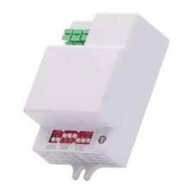 Микровълнов димиращ сензор за LED плафониера, 8м,  360/180 градуса