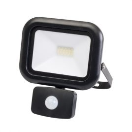 LED прожектор с датчик за движение 20W, IP44, 220V, неутрална светлина, 4000K
