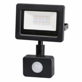 LED прожектор с датчик за движение 10W, IP44, 220V, неутрална светлина, 4200K