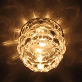 Луна стъклена хром, G9, 220V, PALACE-5