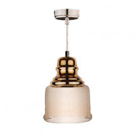 Пендел лъскаво злато/кехлибар, стъкло, DECO ART-2801