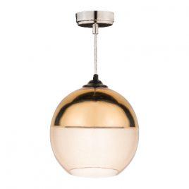 Пендел лъскаво злато/кехлибар, стъкло, DECO ART-2813