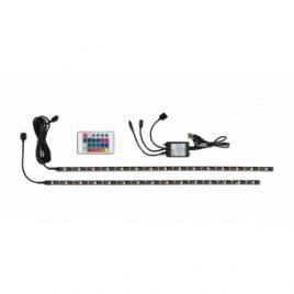 LED фоново осветление за телевизор, RGB