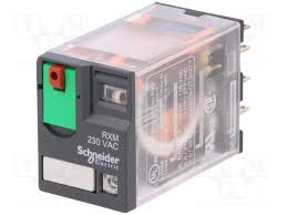 Миниатюрно реле RXM, 10A, 3C/O, 220VAC, LED