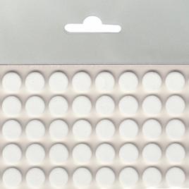 Самозалепващ заглушител на звук от EVA пяна, МАГУС, ф10, бяло