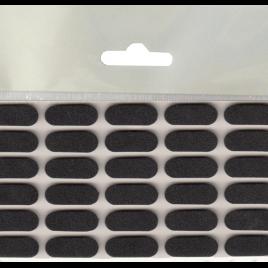 Самозалепващ заглушител на звук от EVA пяна, МАГУС, 22х8мм, черно