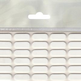 Самозалепващ заглушител на звук от EVA пяна, МАГУС, 22х8мм, бяло