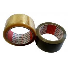 Опаковъчна лента акрилна Безшумна, 60м х 48мм, MAGUS™, кафява