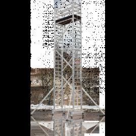 Alle3. Професионално алуминиево скеле 5.7м