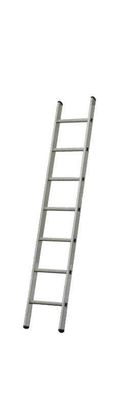 VHR-H 1х10. Професионална алуминиева стълба до 150кг,  10 стъпала