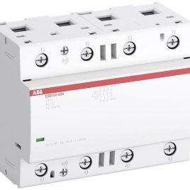 SAE661111R0640. Инсталационен контактор 220V AC/DC, 4НО, 100A