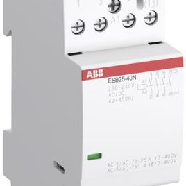 1SAE231111R0604. Инсталационен контактор 220V AC/DC, 4НЗ, 25A
