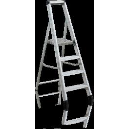 SHRP 804. Усилена стълба с платформа и широки стъпала 3+1