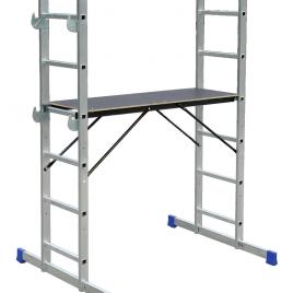 HPP 650. Подвижно алуминиево мини скеле 2.9м, 13.7кг