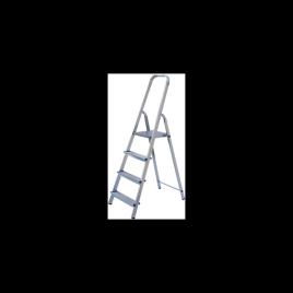 ALW 403. Обикновена алуминиева стълба до 150кг,  2+1