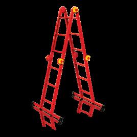 M 4×3 Fe, Многофункционална сгъваема стълба М 4х3 с платформа