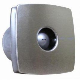 Вентилатор за баня с автоматична клапа X-MART 10 MATIC INOX, ф100, 98 m³/h, 15 W, 38 db, инокс, CATA