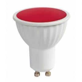 LED луничка, GU10, 220V AC, 5W, червена светлина