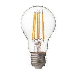 LED крушка FILAMENT, димираща, прозрачна, E27, 220V, 4200K, 7.5W
