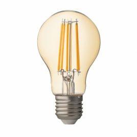 LED крушка FILAMENT, димираща, опушена, E27, 220V, 2500K, 7.5W