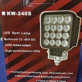 LED халоген KW-240,12-24V, 16 диода, 3200lum