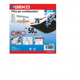 GEKO. Филтър за климатик 75х50 см с активен въглен