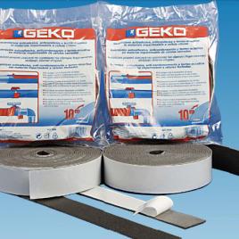 GEKO. Лента за изолация на тръби 10м/15мм/5мм