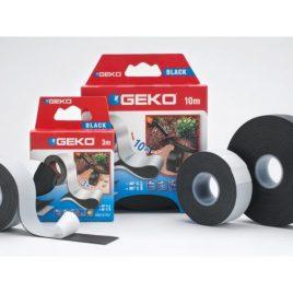 GEKO. Самовулканизираща електро изолационна лента черна 3м/25мм