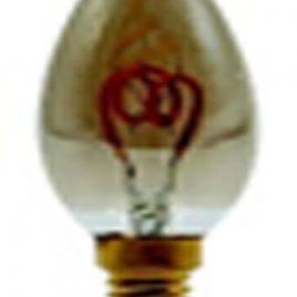 LED винтидж крушка VITO, Ledisone 2, C35, E14, 3.5W