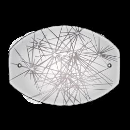 Аплик Искри, бял гланц, LED, 6W, 4000K