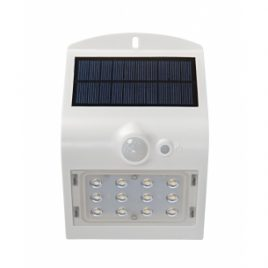 LED соларна лампа за стена със сензор за движение 1.5W