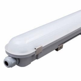 LED Slim индустриално осветително тяло, 220-240V, 1.2m, 5000K, 36W