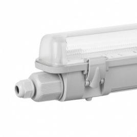 Водоустойчиво осветително тяло за LED тръби, 2xT8, 60см