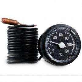 Термометър капилярен за котел CEWAL, 0-120гр
