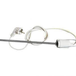 Електрически нагревател с фиксиран термостат БЯЛ 600W, THS