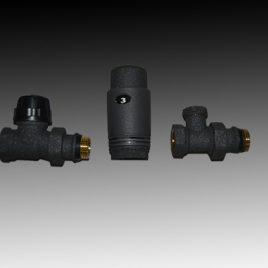 Радиаторен сет CAYMAN-3 BLACK прав 1/2″