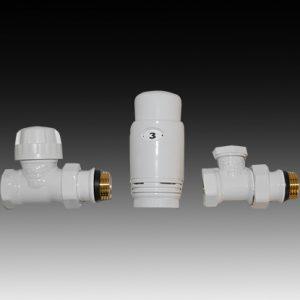 Радиаторен сет CAYMAN-3 WHITE  прав 1/2″