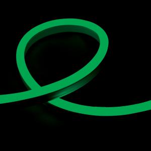 Гъвкав неонов LED маркуч 12W/m, 24V, IP65, зелен