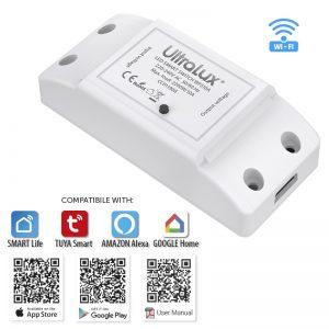 WIFI Smart прекъсвач, 10A, 2200W, 220-240V AC