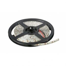 LED лента SMD 2835, неутрално бяла, водоустойчива, IP65, 12V DC, 120LED/m, 5m, 9.6W/m