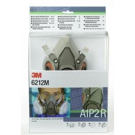 6212/3M Комплект респираторна полу-маска с филтри A1P2R