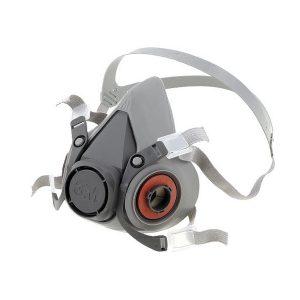 Полу-лицева респираторна маска за многократна употреба 3M 6300, L размер