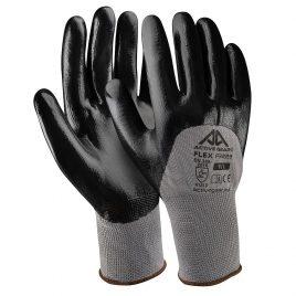 Ръкавици полиестер-черен нитрил, Active FLEX F3230, 10/XL размер