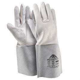 Ръкавици изцяло лицева агнешка кожа/цепена биволска кожа на маншета Active WELDING W6160, 10/XL размер