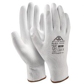 Ръкавици полиестер-бял полиуретан, Active FLEX F8140, 10/XL размер