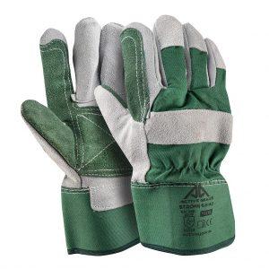 Ръкавици телешка цепена кожа Active STRONG S6140, 10/XL размер