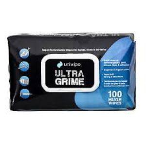 Универсални мокри кърпи Uniwipe Ultra Grime 100бр. с размер 38х25см