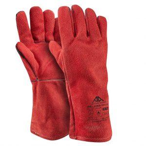 Ръкавици първокласна цепена телешка кожа  Active WELDING W6170, 10/XL размер