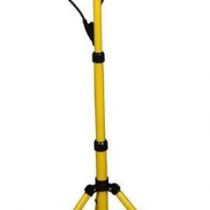 Работна лампа 2х30W 2х2400lm 6500K със стойка триножник IP44 220V с кабел H05RN-F 3×1.5mm2 2,5 метра Commel